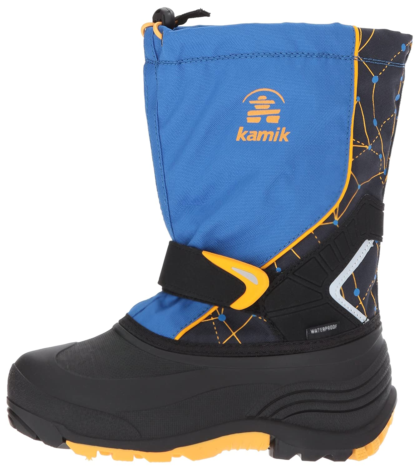 Kamik Kids' Sleet2 Snow Boots, Blue, 9 M US Toddler NK8426S