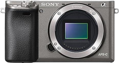 Sony Alpha 6000 Sistema cámara (24 megapíxeles, 7,6 cm (3 pulgadas ...