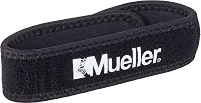 Mueller Jumper's Knee Strap, Black, One Size Fits Most