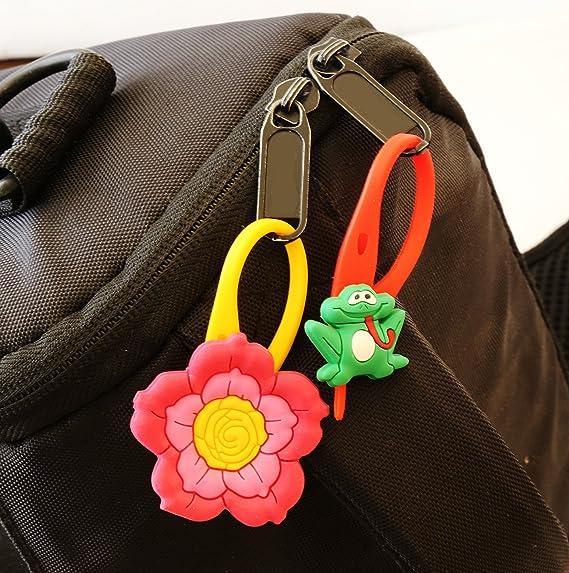 AVIRGO 6 piezas Soft Zipper Pull Cremalleras Set # Adornos para Cazadoras Bolsas Cremalleras Set # 102 - 4: Amazon.es: Juguetes y juegos