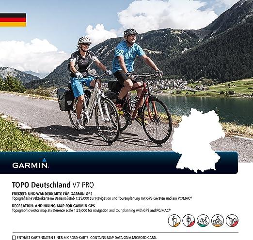 Garmin Topo Alemania V7 Pro: Amazon.es: Deportes y aire libre