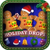 Holiday Drops - Match three puzzle