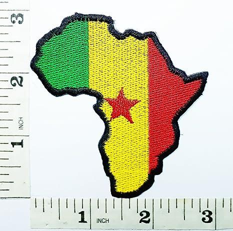Africana África mapa símbolo de música Ska Reggae Rasta marihuana ...
