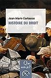 Histoire du droit: « Que sais-je ? » n° 3828