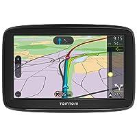 TomTom Car Sat Nav VIA 52, 5 Inch with Handsfree Calling, Lifetime Traffic via Smartphone and EU Maps,Resistive Screen