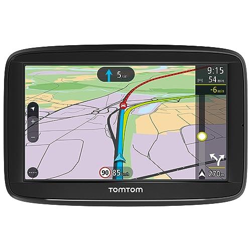 """TomTom Via 52 Europa 48 GPS per Auto, Display da 5"""", Mappe a Vita, Chiamate in Vivavoce, Nero/Antracite"""