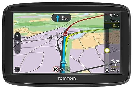 """Tomtom Via 52 - Navegador GPS (5"""" Pantalla táctil, resolución de 480 x"""