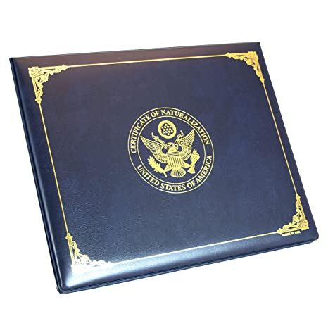 Amazon.com: U.S. Naturalization Certificate Holder, United States ...