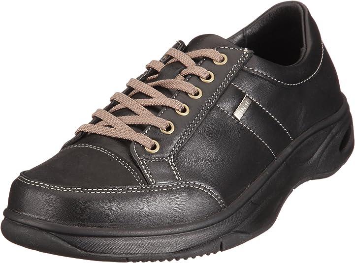Chung Shi Comfort Step Nicolas Schwarz 9102225 - Zapatos de Cuero para Hombre