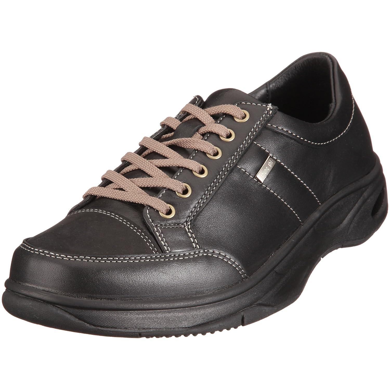 TALLA 41 EU. Chung Shi Comfort Step Nicolas Schwarz 9102225 - Zapatos de Cuero para Hombre