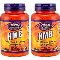 2個セット HMB 1,000 mg 90 タブレット NOW FOODS 海外直送