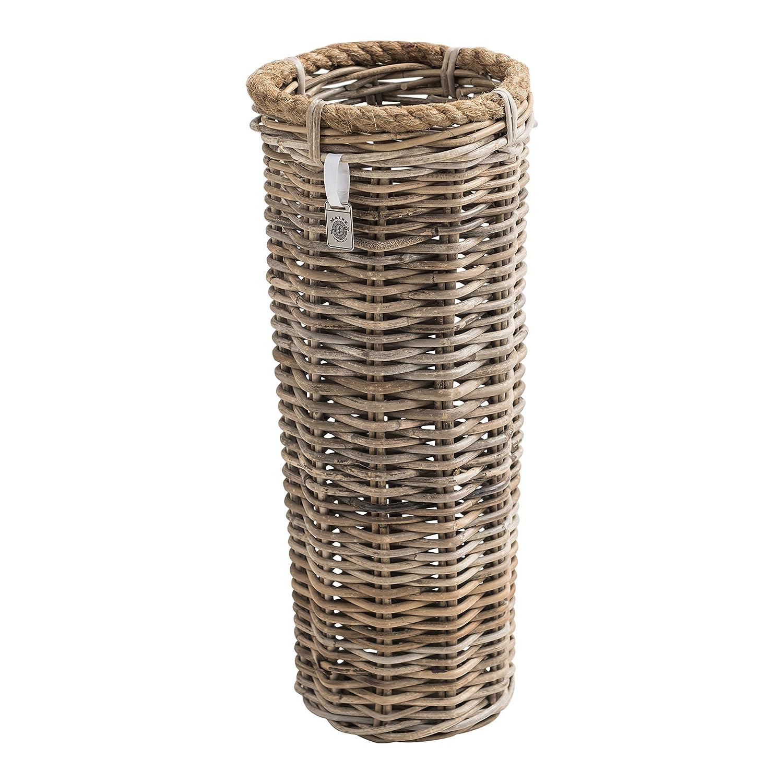 Key Largo Kubu Rattan Umbrella Basket Maine Furniture Co