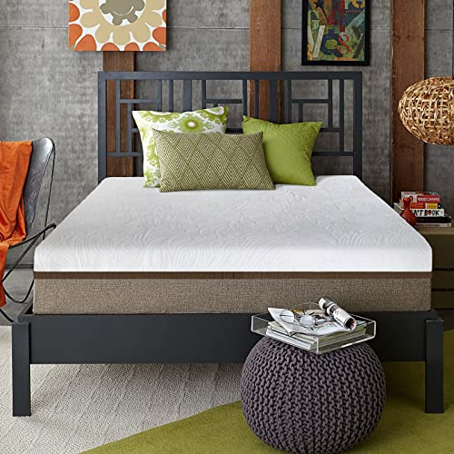 Live and Sleep Resort Ultra Full/Double Size 12-inch Medium Firm Cooling Gel Memory Foam Mattress with Luxury Form Pillow, Certipur Certified plus 20-Year Warranty