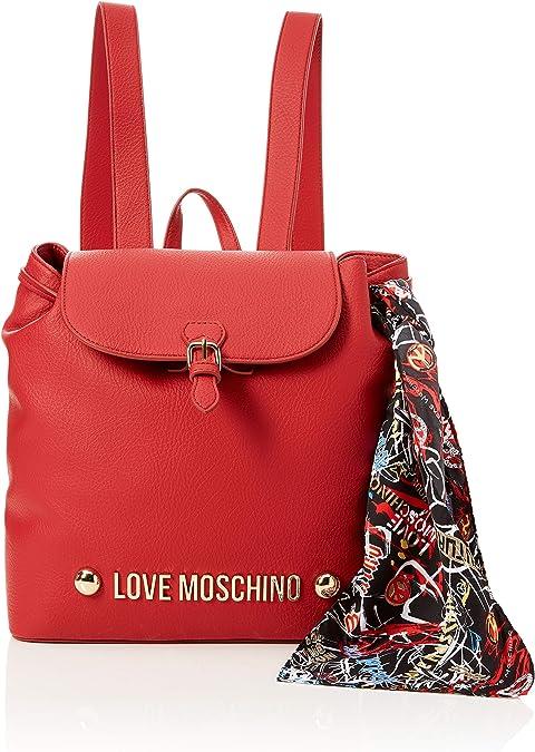 Borse Moschino Love.Love Moschino Borsa Bonded Pu Zaino Donna Rosso 12x30x30 Centimeters B X H X T Amazon It Scarpe E Borse