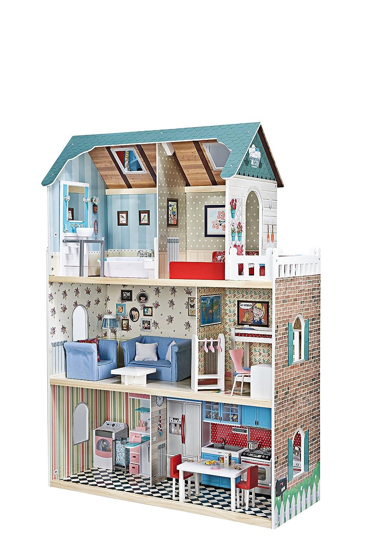 Amazon.es: itsImagical - Amanda Family Maison, casa de muñecas de ...