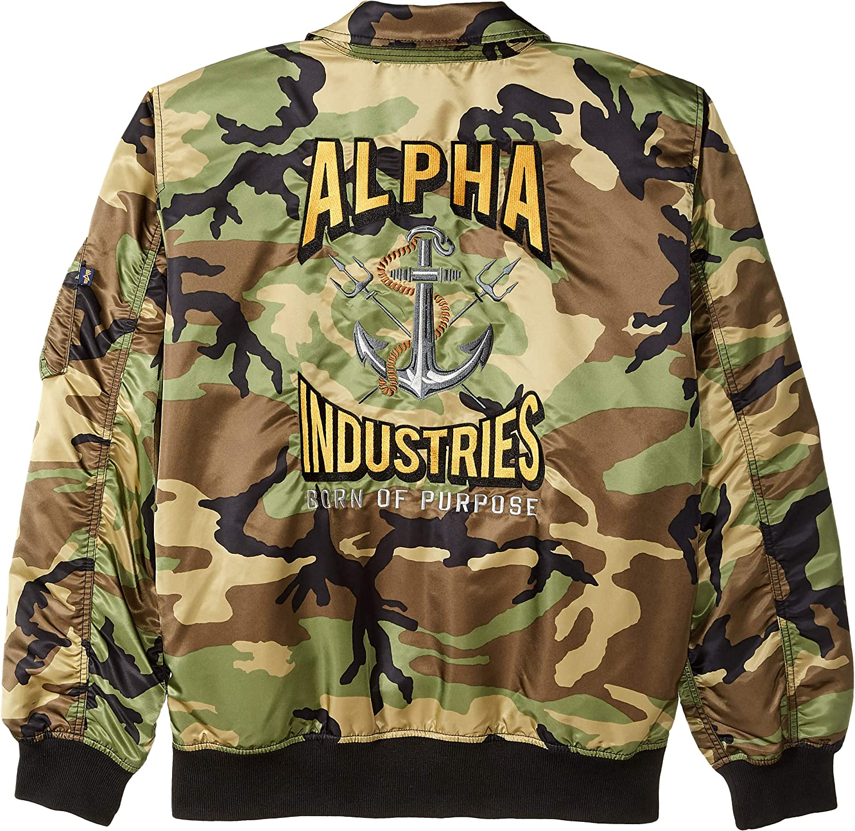 Alpha Industries Mens CWU 36p Mod Flight Jacket