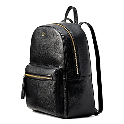Kate Spade Chester Street Aveline Black Leather Backpack on sale