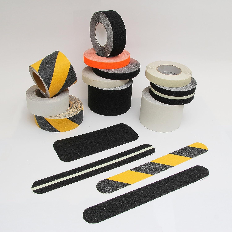Tiras antideslizantes rollo Kara Grip Pro Interior Escaleras 18,3 m rollo 3 cm negro, con relieve, tambié n para perro y niñ o. En lugar de alfombrillas para OD. Escalera Alfombra como protecció n antideslizante, strumpffre