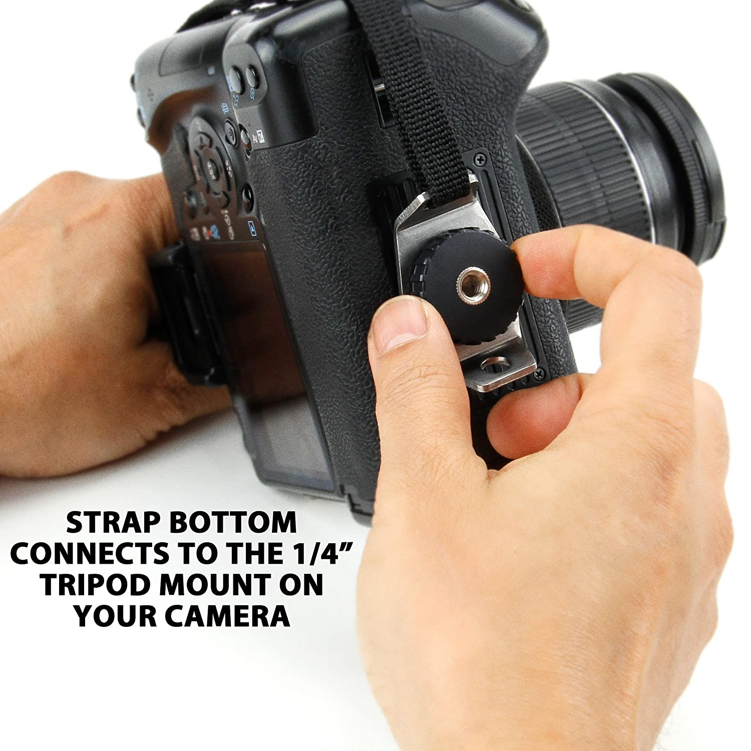 Sony and More DSLR Professional Camera Grip Hand Strap with Floral ...