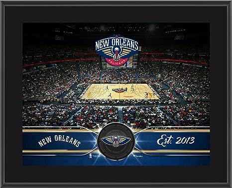 New Orleans Pelicans 10 X 13 Sublimated Team Stadium