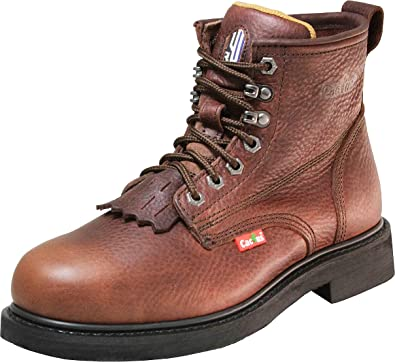 Leather Kiltie Lacer Work Boots | Boots