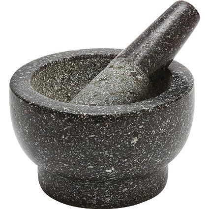amazon com health smart granite mortar and pestle home kitchen