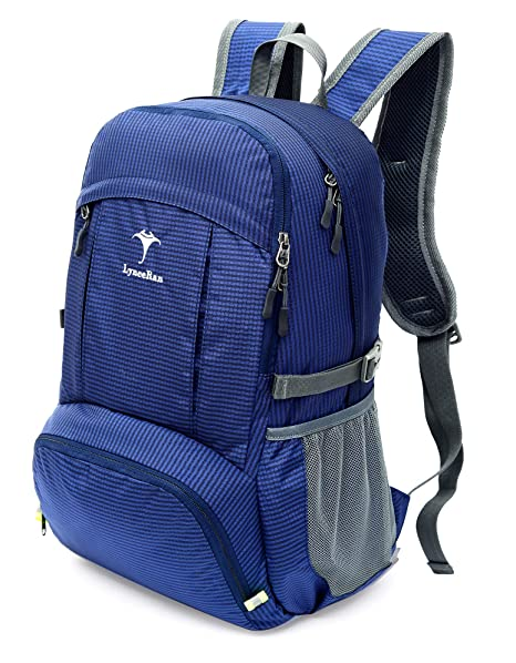 7fea2fbb8d19 LyneeRan Lightweight Packable Durable Travel Hiking Backpack Daypack,37L  Multicompartment Foldable Backpack,Ultralight Outdoor Sport Backpack for  Men ...