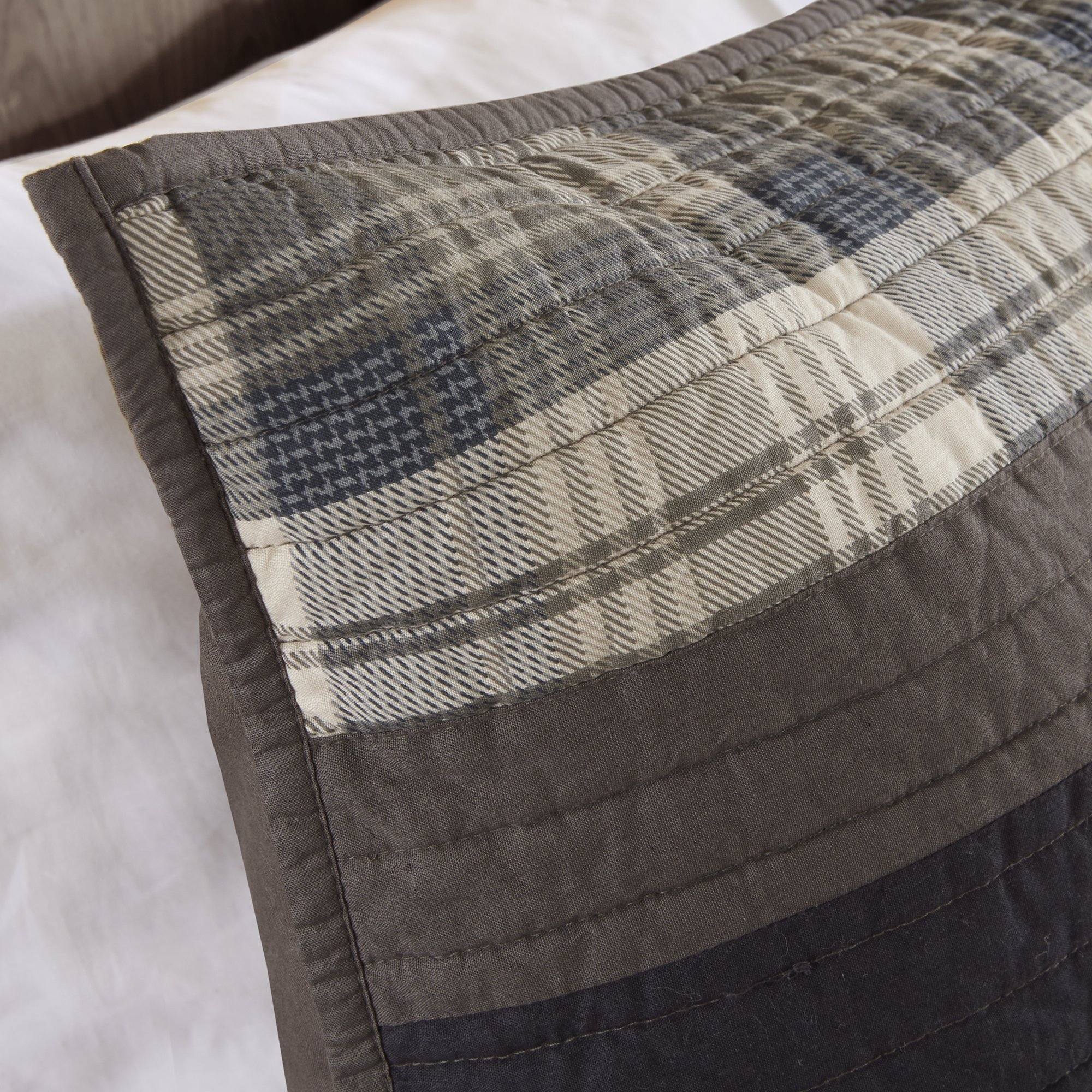 Woolrich WR14-1727 Winter Plains Quilt Mini Set King/Cal King Taupe,King/Cal King