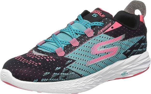 Skechers Go Run 5, Zapatillas de Deporte Exterior para Mujer, Negro (Bktl), 41 EU: Amazon.es: Zapatos y complementos