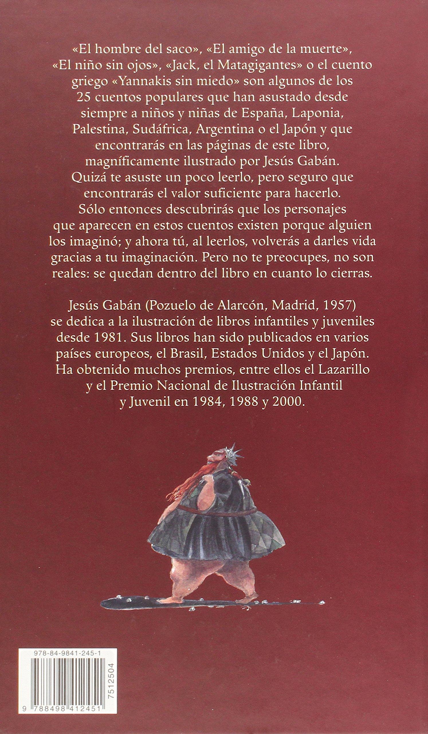 25 Cuentos populares de miedo (Spanish Edition): Ana Cristina Herreros: 9788498412451: Amazon.com: Books