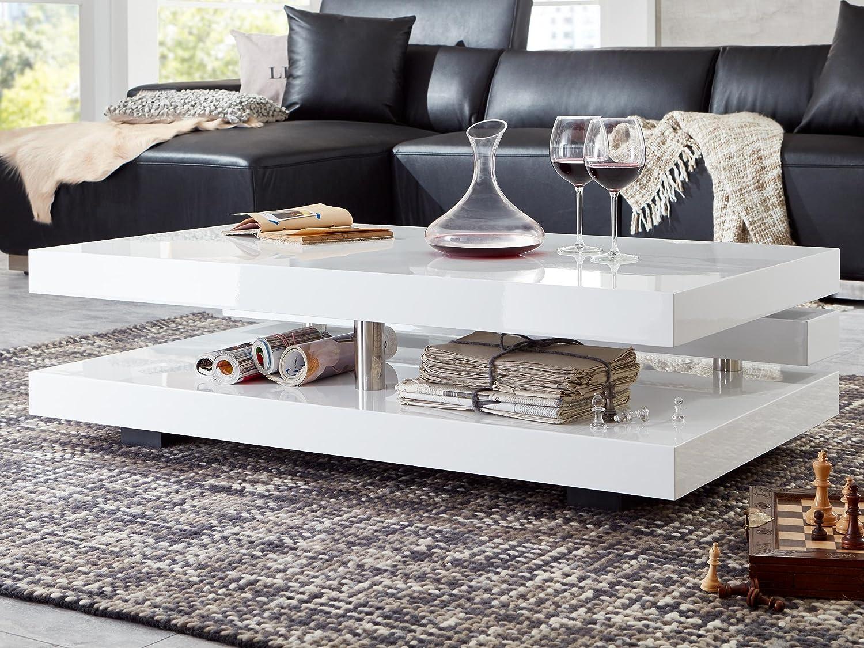 Stunning wohnzimmertisch hochglanz wei gallery house for Design couchtisch twister weiss hochglanz