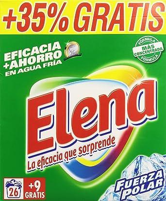 Elena - Detergente lavadora formato polvo, fragancia Fuerza Polar ...