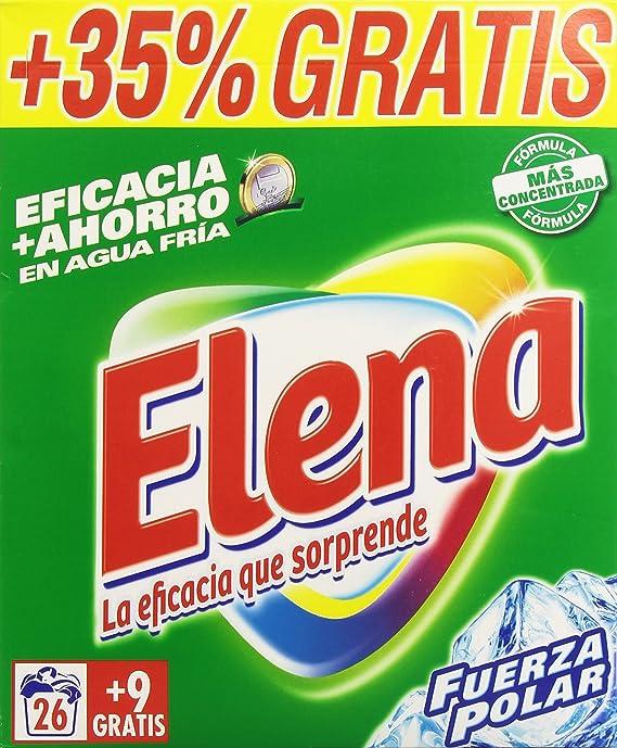 Elena Fuerza Polar Detergente Polvo para Lavar Ropa - 2,275 kg ...
