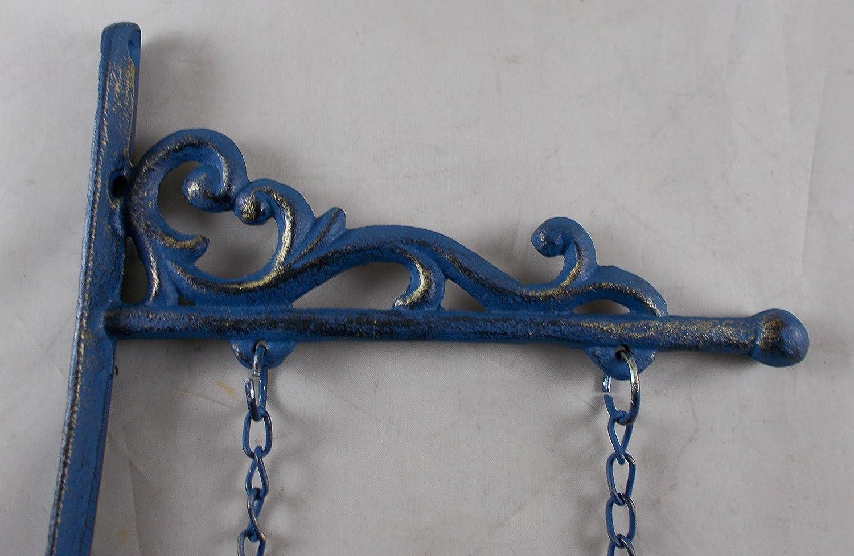 Cast Iron Hanging Mermaid Wall Decor