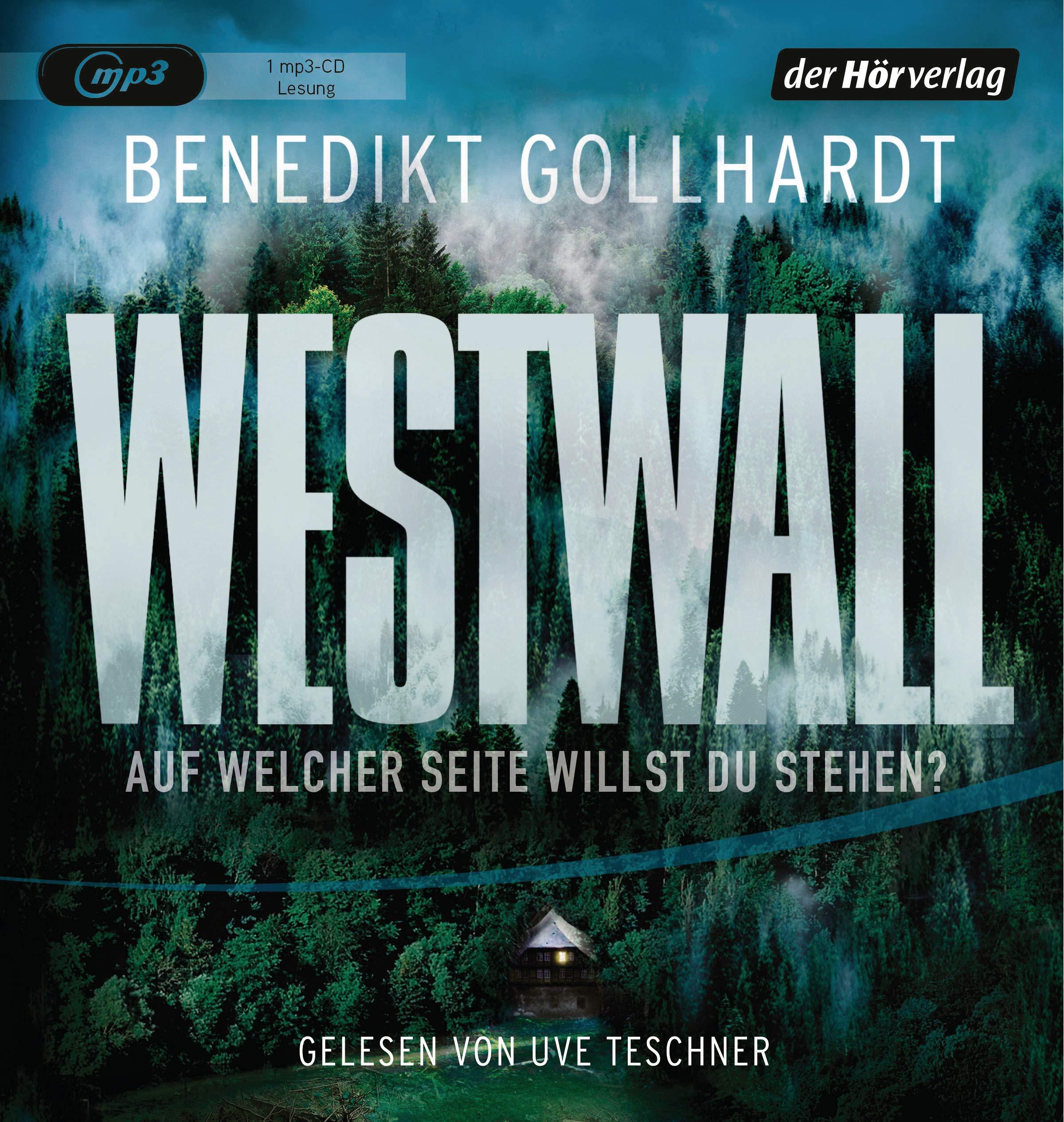 Westwall: Thriller Hörkassette – Audiobook, MP3 Audio Benedikt Gollhardt Uve Teschner der Hörverlag 384453217X
