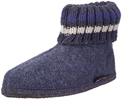 Paul Hüttenschuh Paul, Chaussons mixte adulte, Gris - Grau/graphit, 39Haflinger