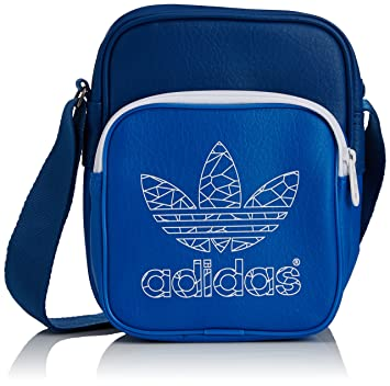 fb5fd271cb0 adidas Mini Classic Street Bag - Bluebird Dark Marine White, One Size