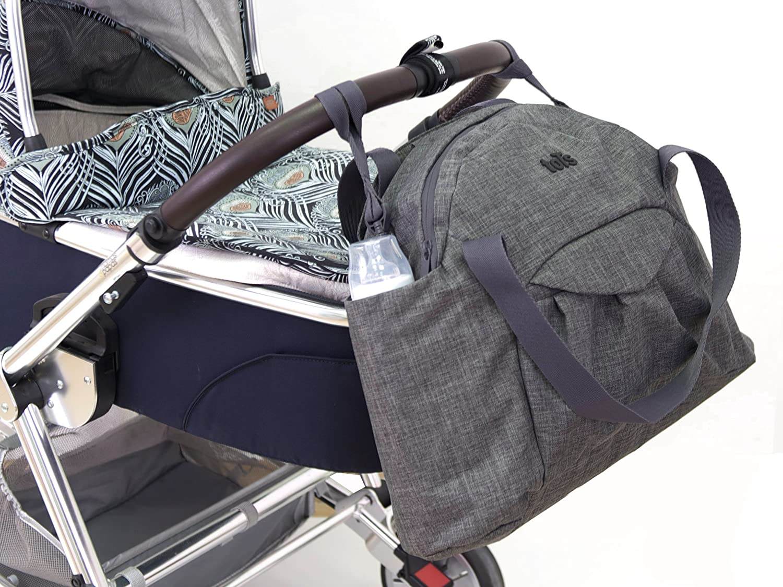 /Melange 301/Voyage sac /à langer gris 45/x 17/x 34/cm/ Tots by Smart Rike 100