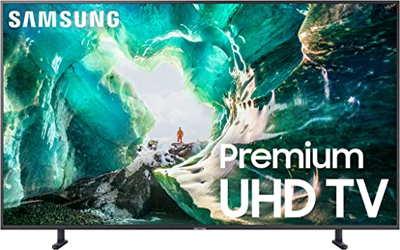Samsung UN49RU8000FXZA Flat 49-Inch 4K 8 Series Ultra HD Smart TV with HDR and Alexa Compatibility (2019 Model)