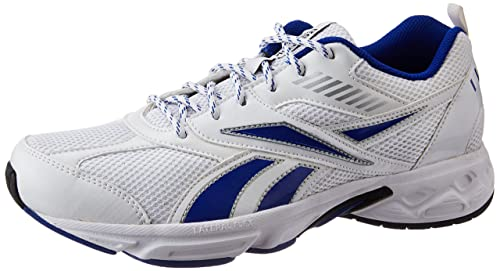 78cafa6e819 Image Unavailable. Image not available for. Colour  Reebok Men s Active  Sport II LP White and Blue Running Shoes ...