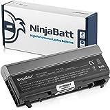 NinjaBatt 9 Celdas Batería de portátil de Dell MP490 PT434 4M529 Latitude E6410 E6400 E6500 E6510 Precision M4400 M4500 KY265 NM631 GN752 U5209 KY477 - Alto rendimiento [6600mAh/73wh]