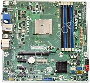 HP 717067-501 HP P6 P7 Jasmine-R AMD Desktop Motherboard FM2, MS-7778 Ver 1.0,
