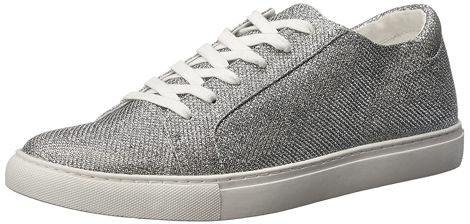 Kenneth Cole REACTION Women's Kam-Era 2 Fashion Sneaker B01LBCU780 9 B(M) US|Silver (Glitter)