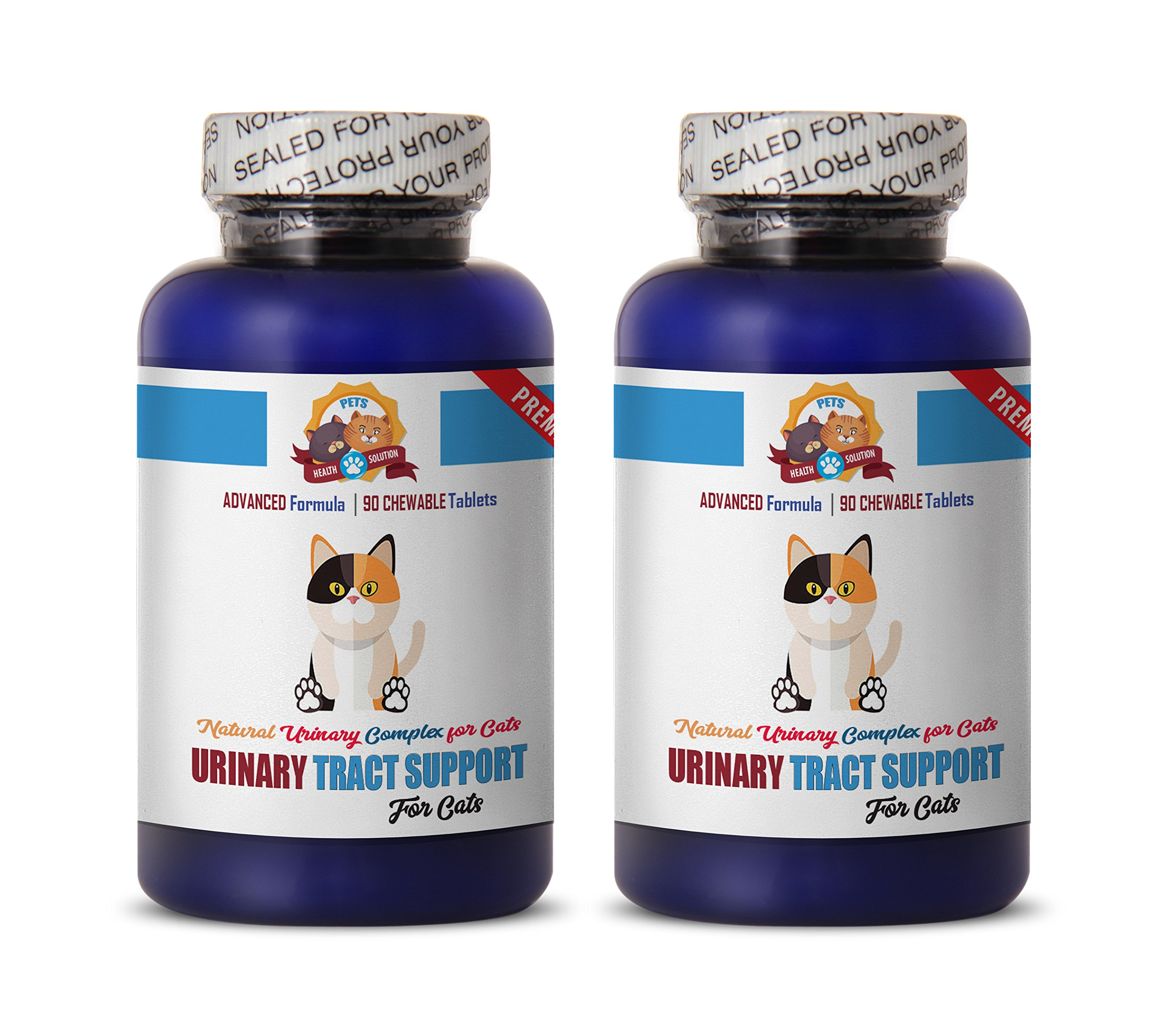 PETS HEALTH SOLUTION urinary treats for cats - PREMIUM URINARY TRACT SUPPORT - CAT TREATS - NATURAL AND HEALTHY - cranberry supplements for cats - 270 Treats (3 Bottle) by PETS HEALTH SOLUTION