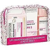 Diadermine Trousse Crème Jour Hydratante PH5, Dissolvant Doux, Lingettes Démaquillantes 175 ml