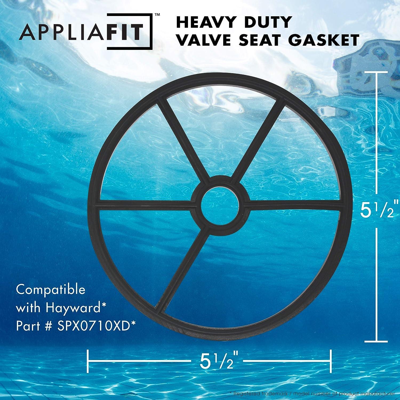 AppliaFit 3-Pack Valve Seat Spider Gasket Compatible with Hayward SPX0710XD Gasket for Multiport and Sand Filter Valves.: Garden & Outdoor