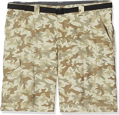 Columbia Silver Ridge, Pantalones cortos cargo de camuflaje, Hombre