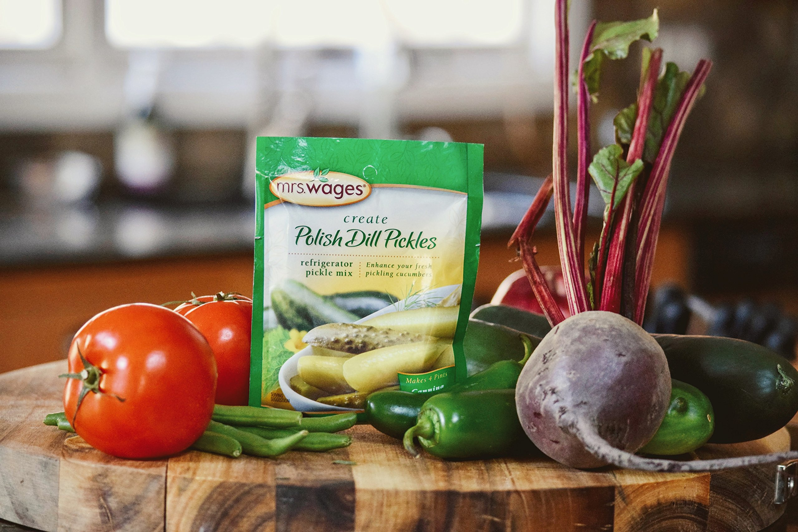 Mrs. Wages Polish Refrigerator Pickle Mix, 12-1.9-Ounce Pouches by Mrs. Wages (Image #5)