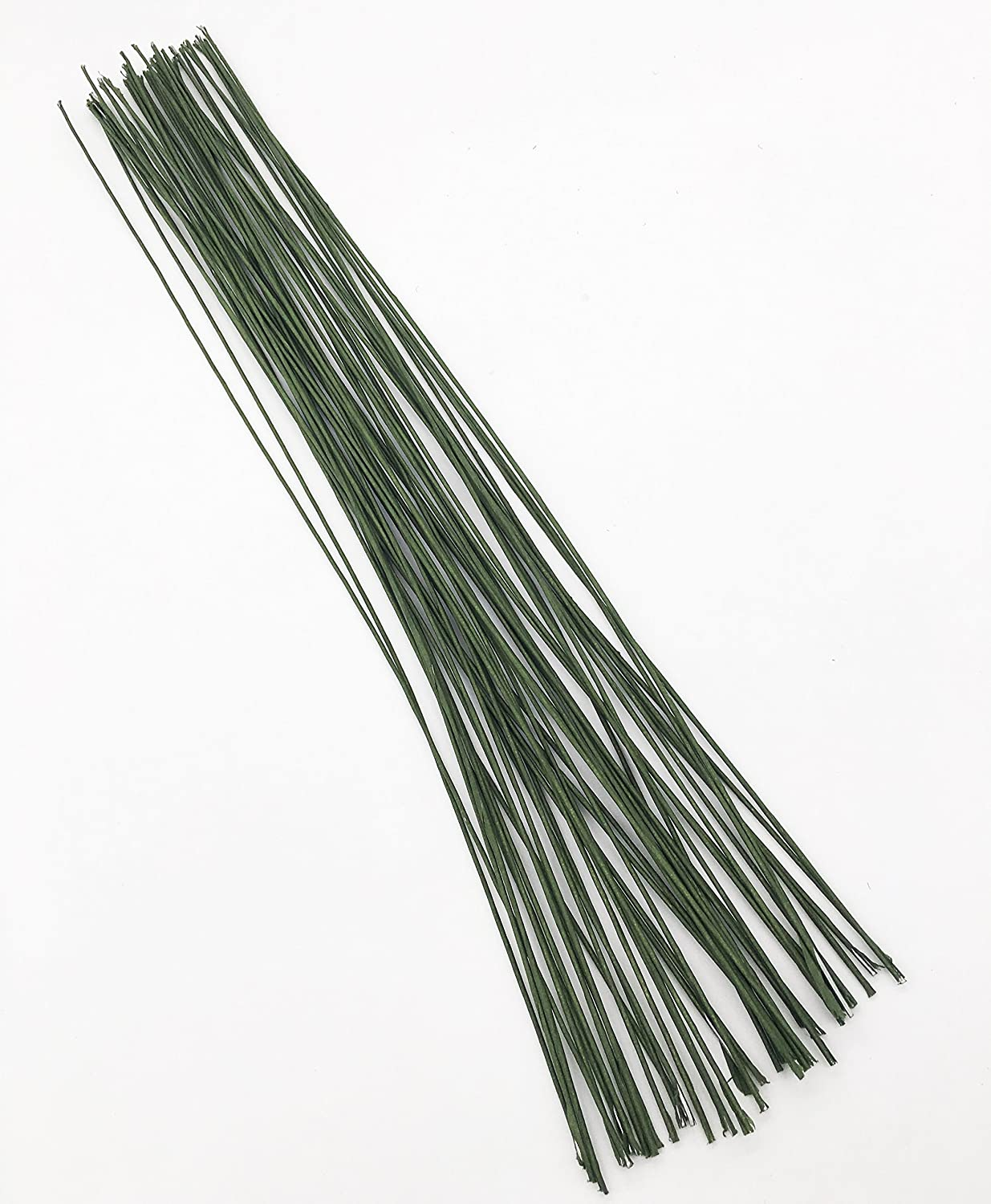 Gum Paste Floral Wire 26 Gauge Green Floral Wire for Flower Wrap11 inch, 40/Package KOOTIPS Kootips-1-4176