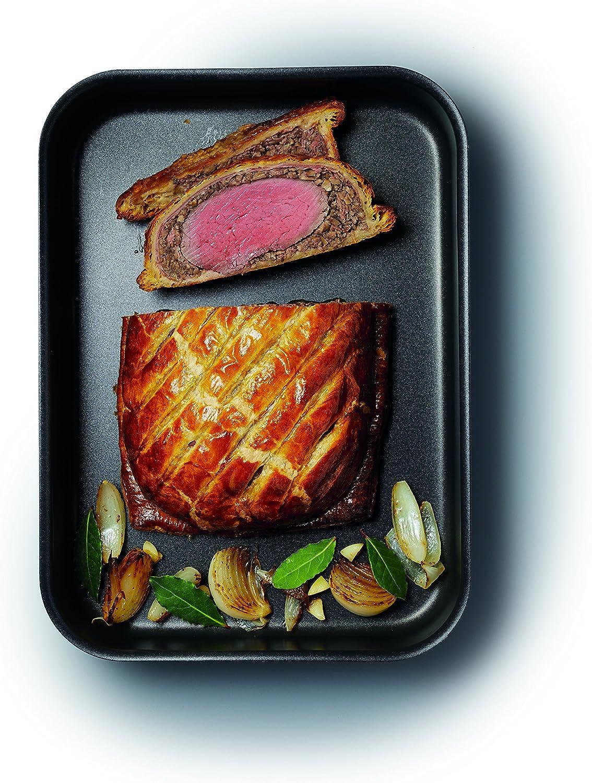 Kitchen Craft Master Class Professional Bandeja para el Horno de anodizada 37 x 26 x 7 cm